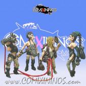 Dark Elves - Dark Elves Camera Crew Set of 4 - Shadowforge