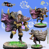Dark Elves - Harkon Dark Elf Assassin Star Player - Meiko Miniatures