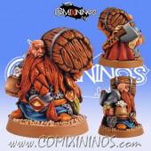 Dwarves - Bloodweiser Drunkard Dwarf - Scibor Miniatures