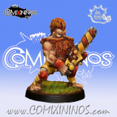 Dwarves - Dwarf Chainsaw Star Player - Iron Golems