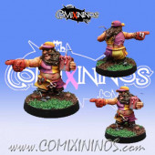 Dwarves - Dwarf Fan - Willy Miniatures