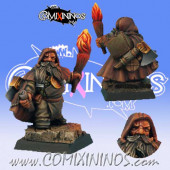 Dwarves - Dwarf Coach Sapper - Scibor Miniatures