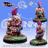 Undead / Necromantic - Dwarf Zombie - Meiko Miniatures