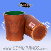 Dwarf Leather Dice Cup - Chaos Factory