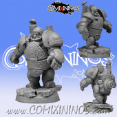 Dwarves - Steam Dwarf Player nº 1 Blocker - Scibor Miniatures