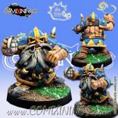 Dwarves - Buumer Bombardier Star Player - Meiko Miniatures