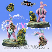 Dwarves - Dwarf Easter Bunny - Scibor Miniatures