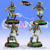 Egyptian Tomb Kings - Set A of 4 Skeletons - Willy Miniatures