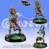 Egyptian Tomb kings - Skeleton Thro-Ra nº 2 - Willy Miniatures