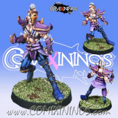 Dark Elves - Edril Hypnotic Gaze Dark Elf Star Player - Meiko Miniatures