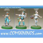 Elves - Elf Coach Trainer Nurse  Set of 3 - Shadowforge