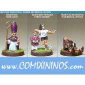 Humans - Nun Trainer Coach Nurse Set of 3 - Shadowforge
