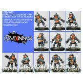 Dwarves - Dwarfette Team of 11 Players - Shadowforge