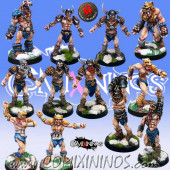 Norses - Norse Team of 12 Players Snow Troll Not Included - Mano di Porco