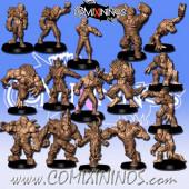 Undead / Necromantic - Eternals Dead Team of 16 Players - RN Estudio