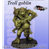 Big Guys - Troll with Goblin - Fanath Art