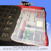 Two-Floor Carrying Bag for Blood Bowl Teams with Compartment Box - Feldherr