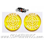 Overwatch Tokens (Set of 2) - Translucent Yellow