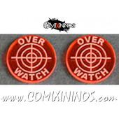 Overwatch Tokens (Set of 2) - Translucent Orange