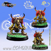 Goblins / Underworld - Goblin nº 9 with Horns - Meiko Miniatures