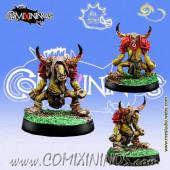 Goblins / Underworld - Goblin nº 9 with Horns - Meiko Miniatures