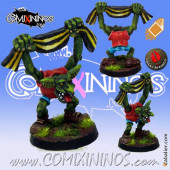 Goblins / Orcs - Goblin Fan nº 2 with Scarf - Mano di Porco