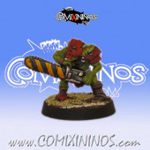 Goblins - Indiegogo Looney Goblin with Chainsaw - Willy Miniatures
