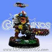 Goblins - Classic Looney Goblin with Chainsaw - Willy Miniatures