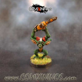 PAINTED Gremlin Looney with Chainsaw