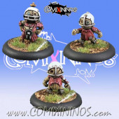Halflings - Puppet Set of 3 Blockers - Meiko Miniatures