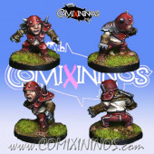 Halflings - Madug Halfling Remastered - Meiko Miniatures
