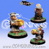 Halflings - Halfling Chef Chicote - Willy Miniatures