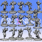 High Elves - Hightouch High Elf Team of 16 Players - RN Estudio