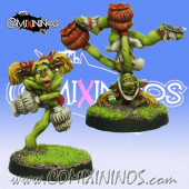 Evil Dwarves - Set of 2 Volmarian Hobgoblin Cheerleaders - Rolljordan