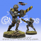 Humans - Human Chainsaw - SP Miniaturas