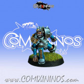 Humans - Human Lineman nº 3 - Willy Miniatures