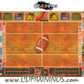 29 mm Indoor Plastic Gaming Mat with Parallel Dugouts - Comixininos