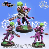 Humans / Kaos - Joker Chainsaw Star Player - Meiko Miniatures