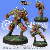 Evil - Beastman nº 3 - Meiko Miniatures