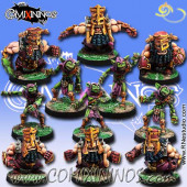Evil Dwarves - Volmarian Team of 11 Players - Rolljordan