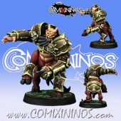 Evil Dwarves -  Bull Centaur Star Player - Willy Miniatures