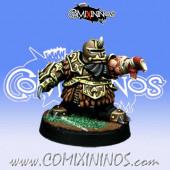 Evil Dwarves - Evil Dwarf Blocker nº 2  - Willy Miniatures