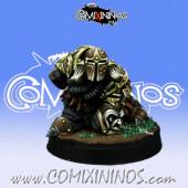 Evil Dwarves - Evil Dwarf Blocker nº 6  - Willy Miniatures