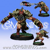 Evil Dwarves - Minotaur nº 3 of Evil Dwarf Team - Willy Miniatures
