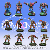 Evil - Team of 12 Players - Meiko Miniatures and Mano di Porco