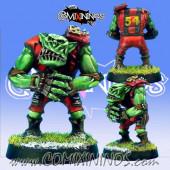 Orcs - Resin Orc Lineman nº 2 - Necrom Studio