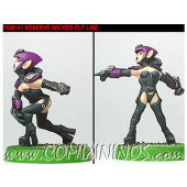 Dark Elves - Dark Elf Linewomen Set of 2 - Shadowforge