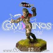 Wood Elves - Timberline Linewoman nº 4 - Impact!