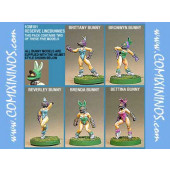 Amazons / Humans - Bunny Linewomen Set of 2 - Shadowforge