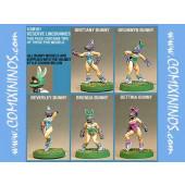 Amazons / Humans - Bunny Linewomen Set of 2 - Shadowforge
